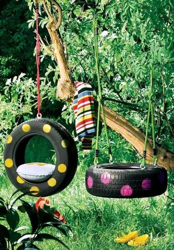 The Tyre Swings