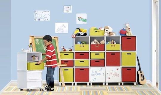 Storage For Your Kid's Fun Toys
