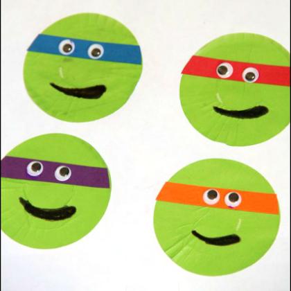 Teenage Mutant Ninja Turtle Party Ideas for Kids Mutant Stickers