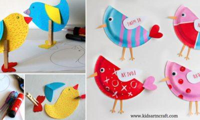 DIY Kids Craft Cute Paper Plate Love Birds  sc 1 st  Kids Art \u0026 Craft & Preschool Archives - Page 4 of 5 - Kids Art \u0026 Craft