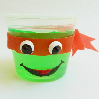 Teenage Mutant Ninja Turtle Party Ideas for Kids Ninja Glass