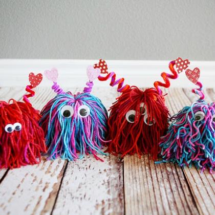 Crazy Monster Crafts for Kids