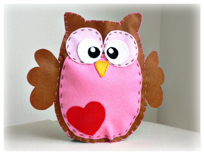 Kids Craft No Sew Felt Owl Finger Puppets Kids Art Amp Craft