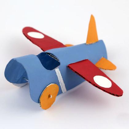 Самолет по своими руками из бумаги 6
