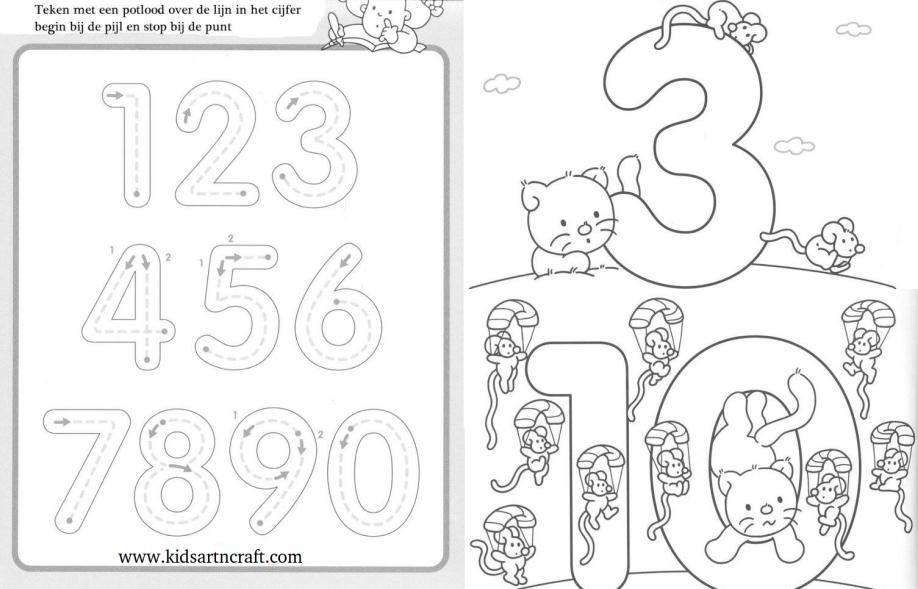 Wonderful Writing Numbers To 10 Worksheet Gallery - Worksheet ...