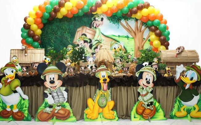 Jungle Safari Theme Birthday Party Ideas Mickey Mouse Jungle Theme