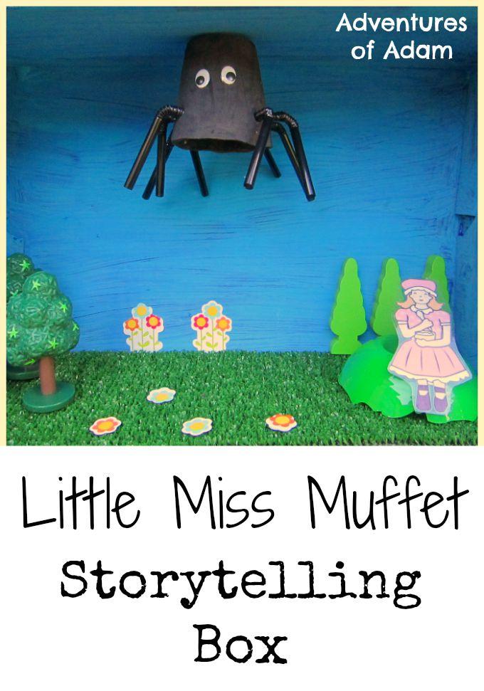 Little Miss Muffet Storytelling Box