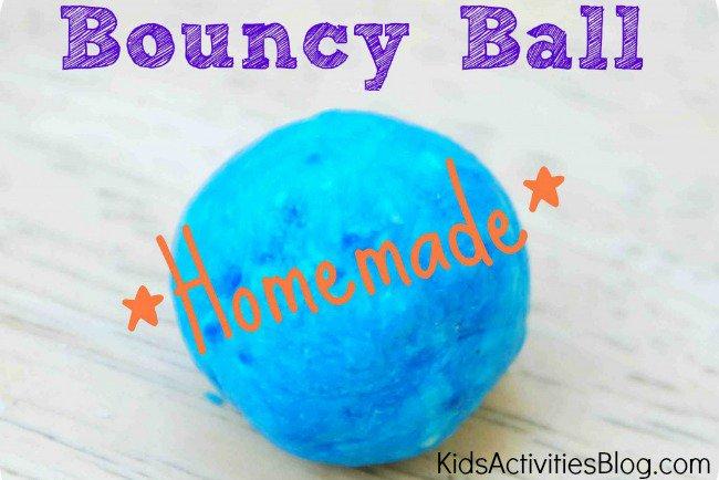 DIY FOR KIDS {MAKE A BOUNCY BALL}