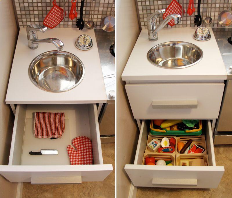 PERSONALISED DIY GIFTS DIY Modern Play Kitchen