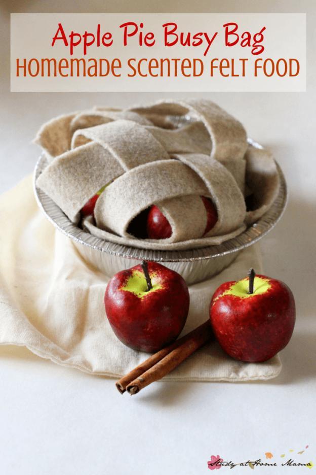 Homemade Apple Pie Busy Bag
