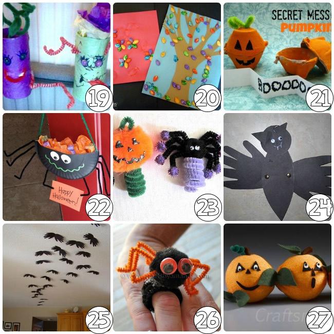 70+ Halloween Craft Ideas for Kids - Kids Art & Craft