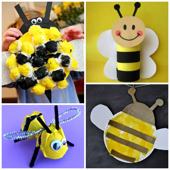 bee craft ideas buzzworthy bee crafts for amp craft 1115